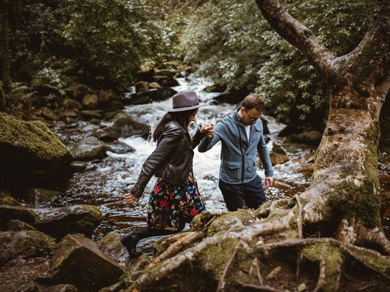 Fotograf Ślubny - plener w Irlandii foto malarz