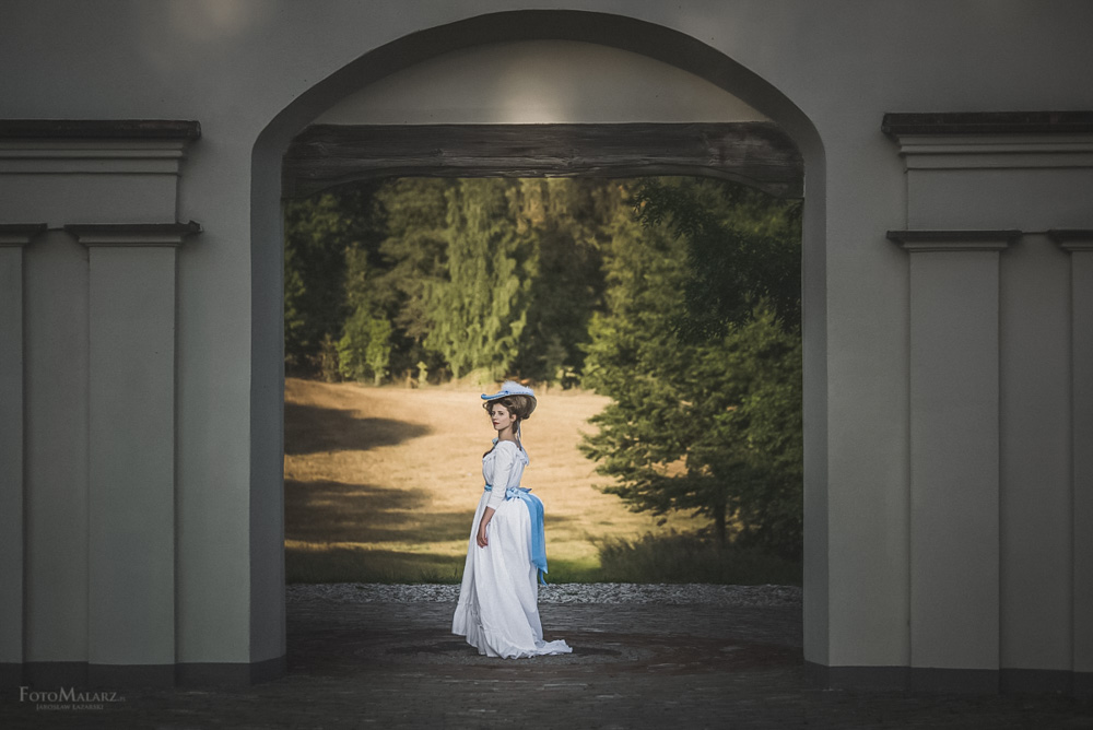 Panny z Folwarku Foto Malarz fotograf ślubny 020