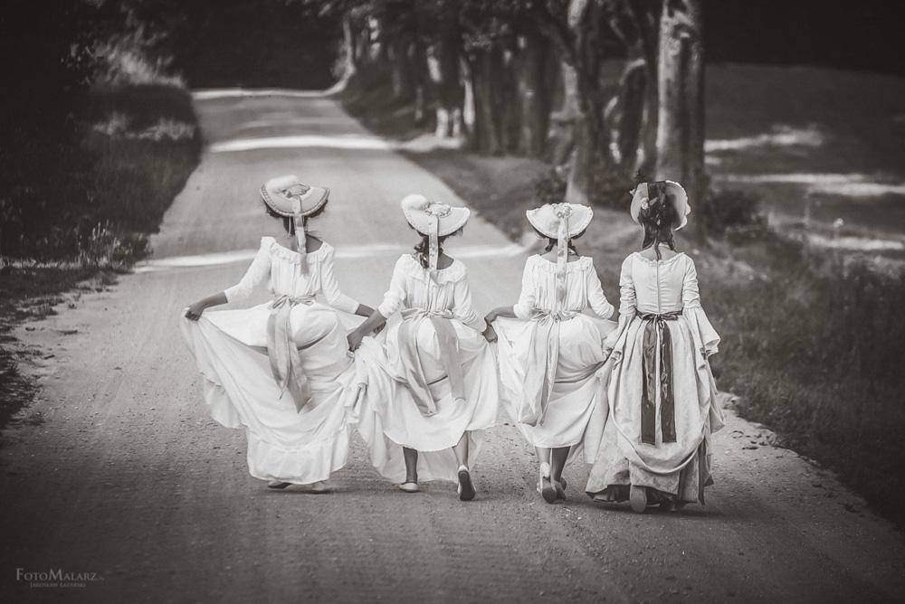 Panny z Folwarku Foto Malarz fotograf ślubny 022