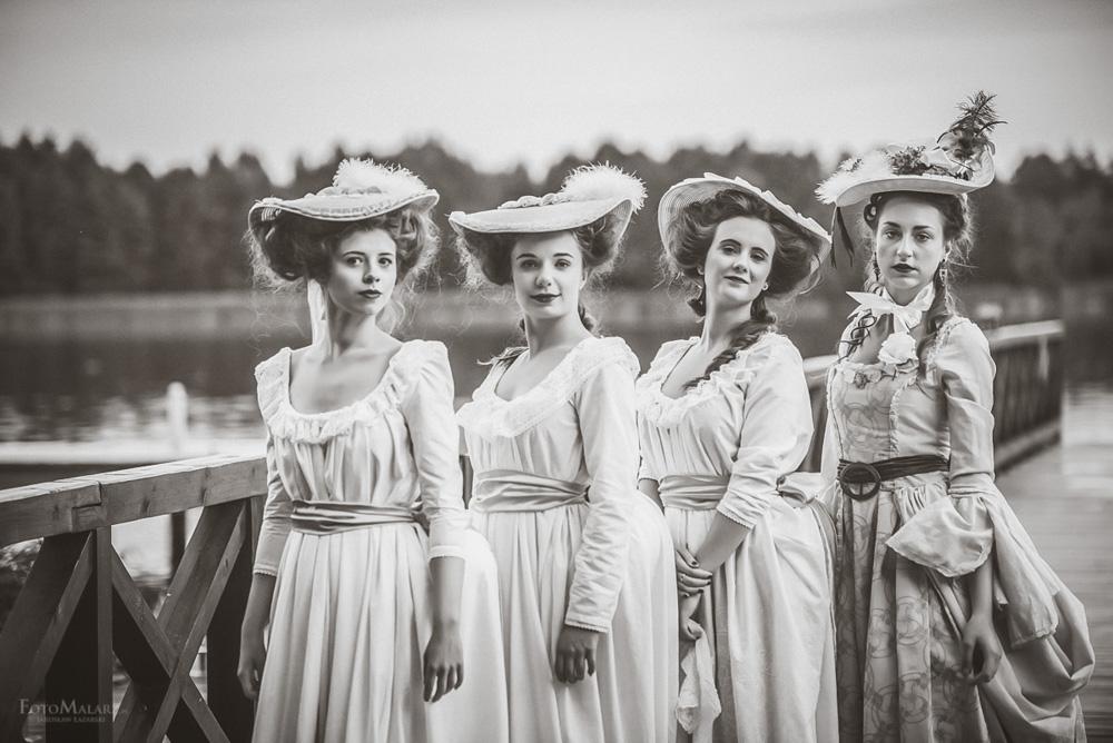 Panny z Folwarku Foto Malarz fotograf ślubny 030