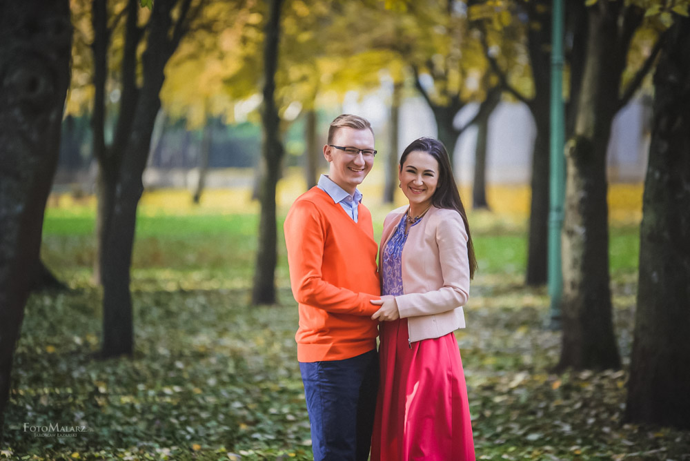 Sesja narzeczenska w barwach jesieni Foto Malarz 03