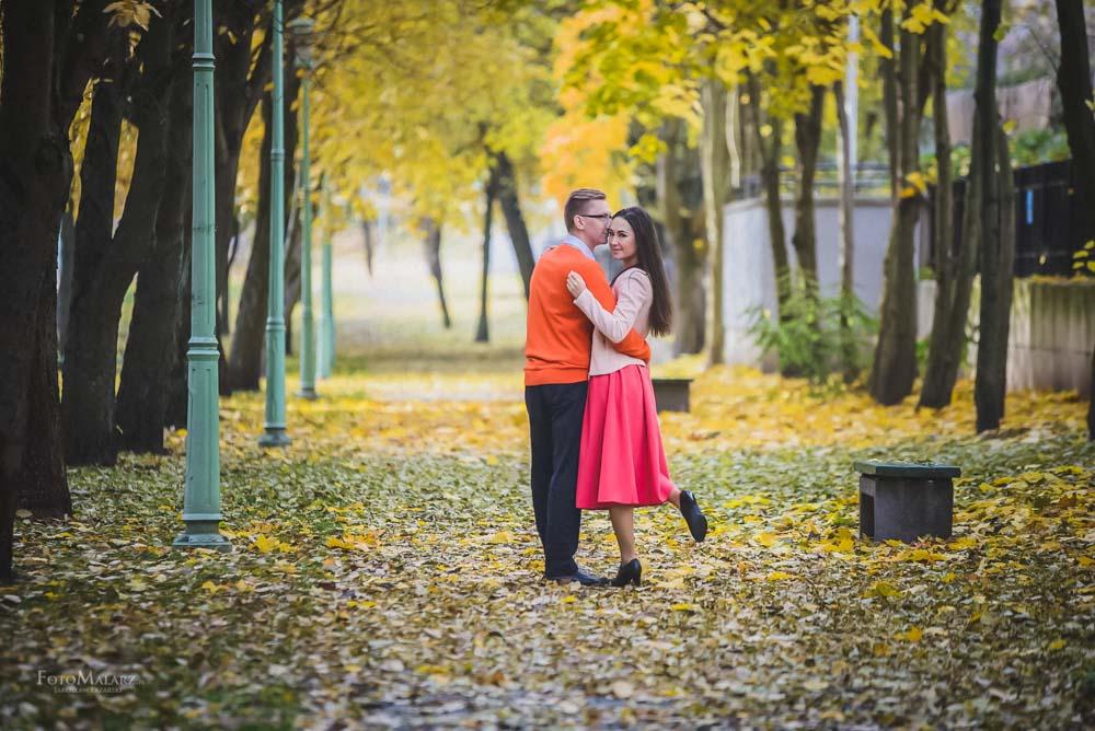 Sesja narzeczenska w barwach jesieni Foto Malarz 05