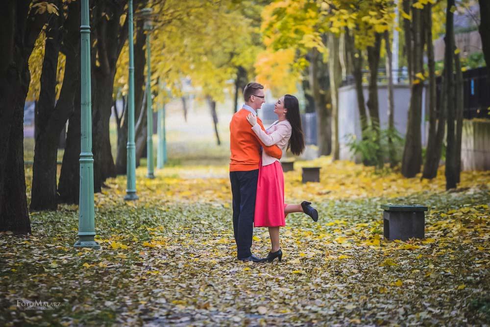 Sesja narzeczenska w barwach jesieni Foto Malarz 06