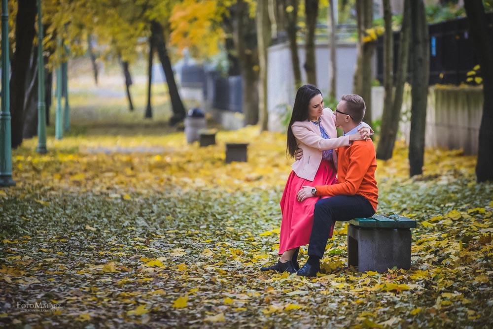 Sesja narzeczenska w barwach jesieni Foto Malarz 07