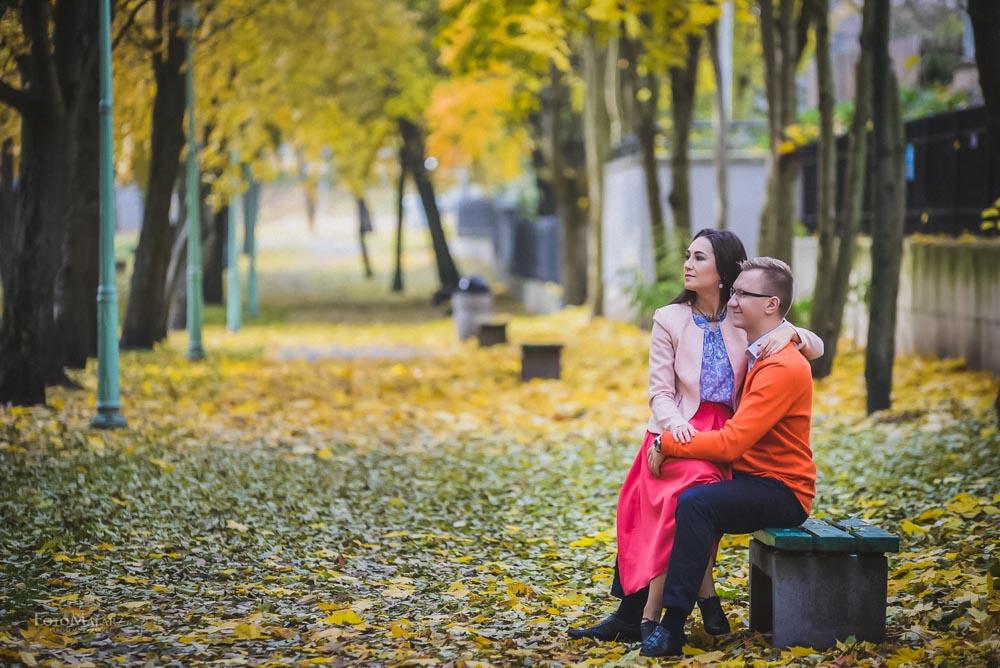 Sesja narzeczenska w barwach jesieni Foto Malarz 08