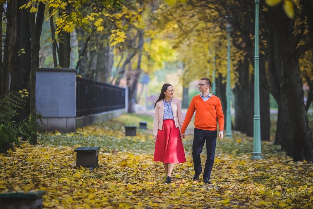 Sesja narzeczenska w barwach jesieni Foto Malarz 09