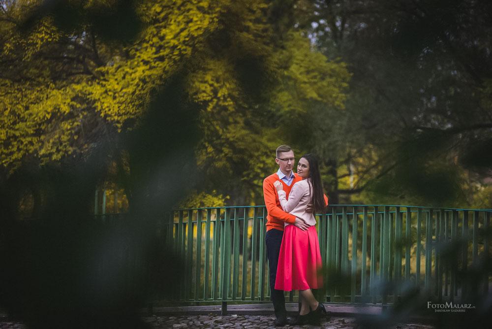 Sesja narzeczenska w barwach jesieni Foto Malarz 14