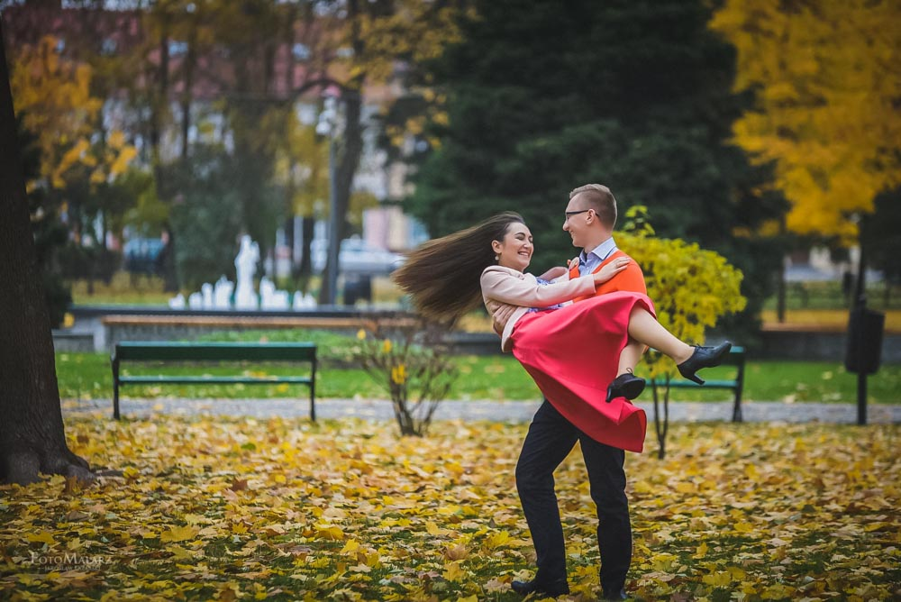 Sesja narzeczenska w barwach jesieni Foto Malarz 17