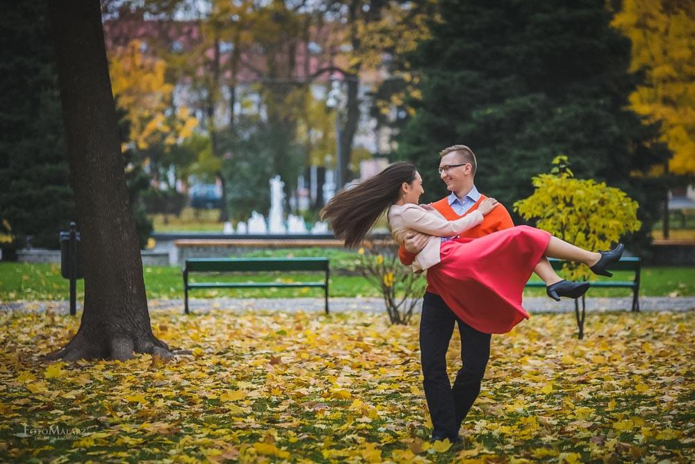 Sesja narzeczenska w barwach jesieni Foto Malarz 18