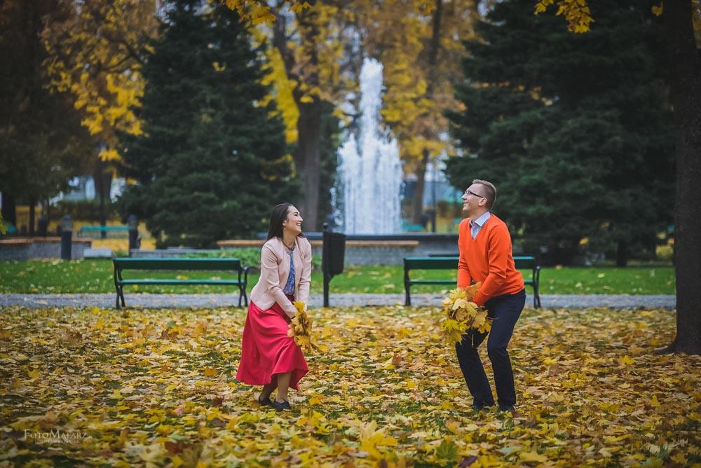Sesja narzeczenska w barwach jesieni Foto Malarz 23