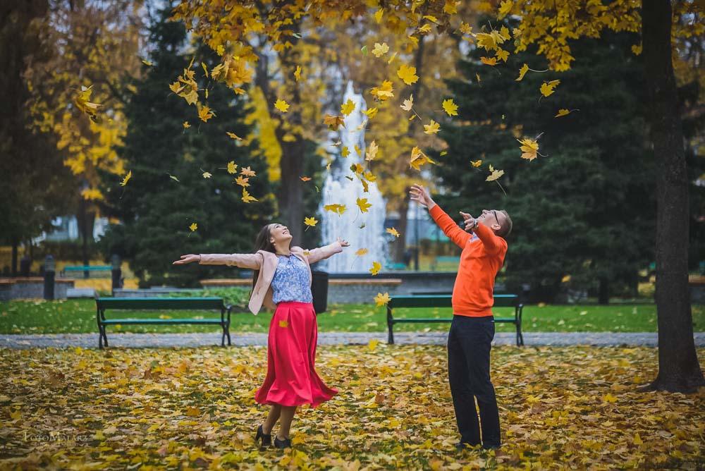 Sesja narzeczenska w barwach jesieni Foto Malarz 25