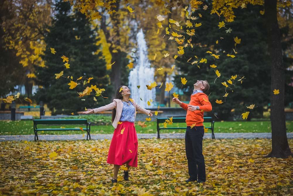 Sesja narzeczenska w barwach jesieni Foto Malarz 26