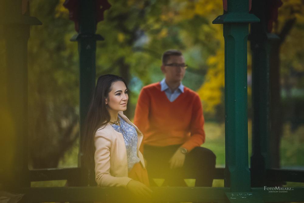 Sesja narzeczenska w barwach jesieni Foto Malarz 30