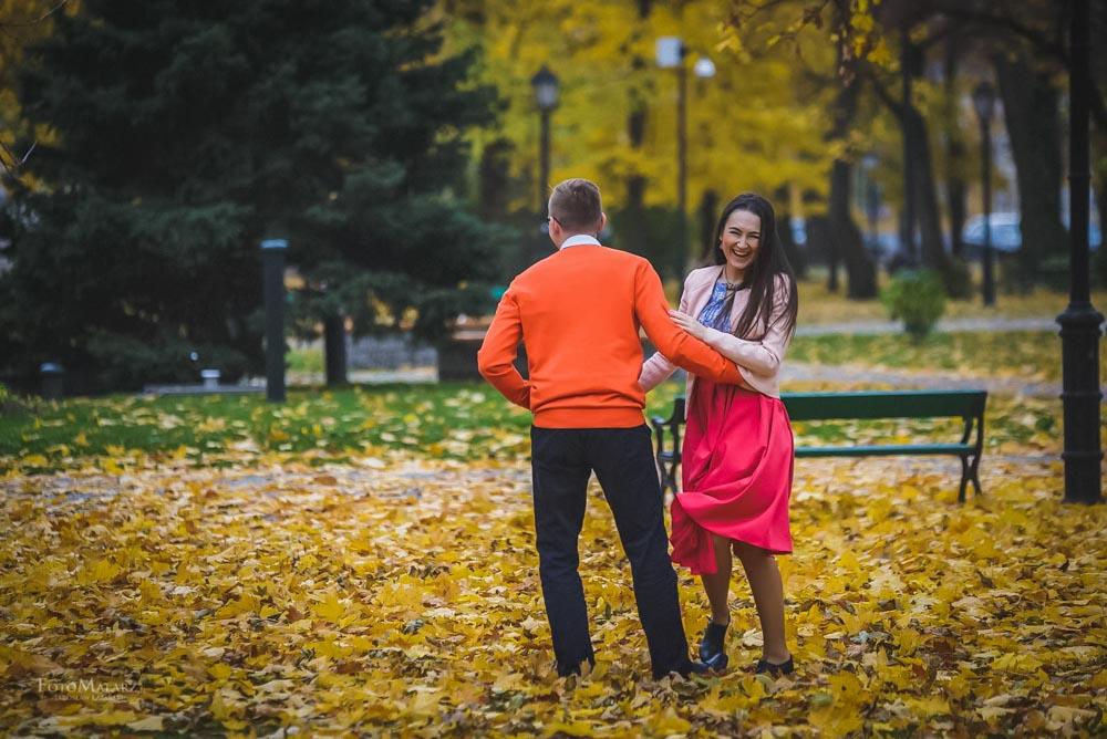 Sesja narzeczenska w barwach jesieni Foto Malarz 32