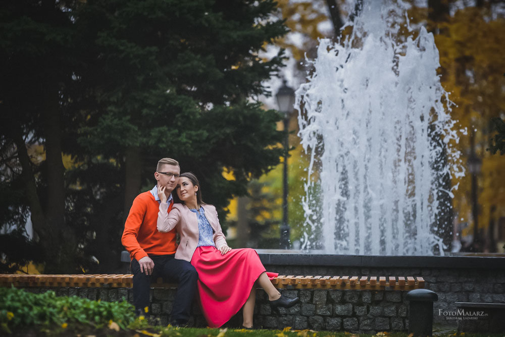 Sesja narzeczenska w barwach jesieni Foto Malarz 33