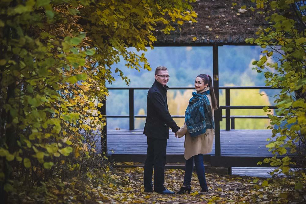 Sesja narzeczenska w barwach jesieni Foto Malarz 35