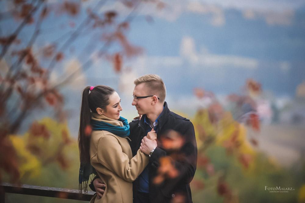 Sesja narzeczenska w barwach jesieni Foto Malarz 40