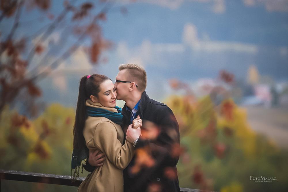 Sesja narzeczenska w barwach jesieni Foto Malarz 42