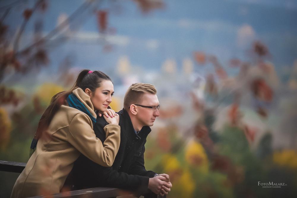 Sesja narzeczenska w barwach jesieni Foto Malarz 43
