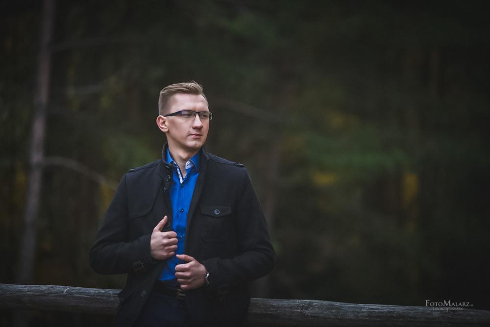 Sesja narzeczenska w barwach jesieni Foto Malarz 50