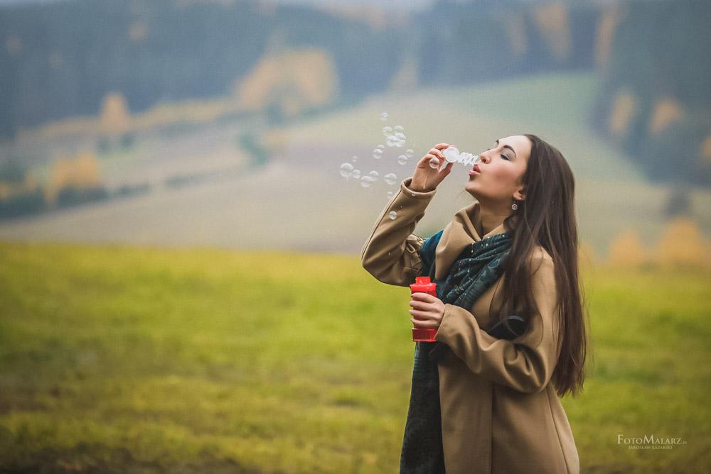 Sesja narzeczenska w barwach jesieni Foto Malarz 51
