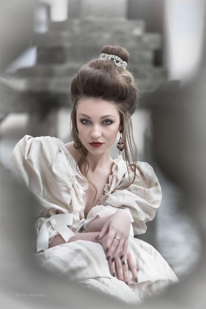 Jej Portret Foto Malarz