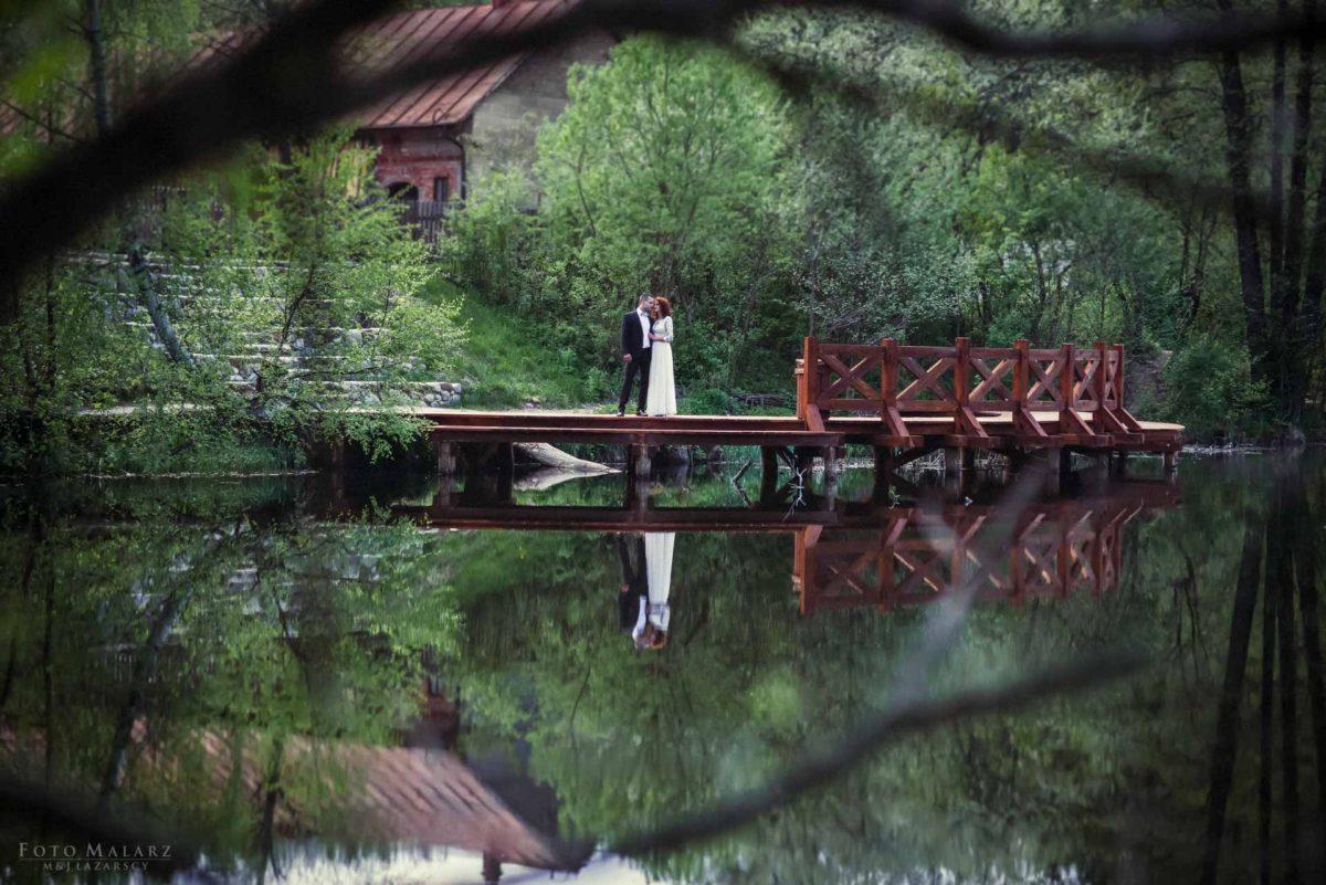 Suwalski Park Krajobrazowy Turtul Pałac Paca Nad Neckiem w Augustowie foto malarz